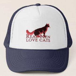 Real Men Love Cats 2 Trucker Hat