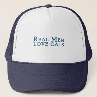 Real Men Love Cats 4 Trucker Hat