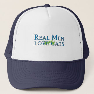 Real Men Love Cats 5 Trucker Hat