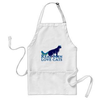 Real Men Love Cats Aprons