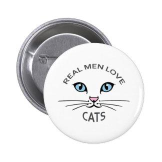 REAL MEN LOVE CATS PIN