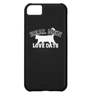 Real Men Love Cats Case For iPhone 5C