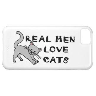 real men love cats cat feline pet furry cute claws iPhone 5C covers