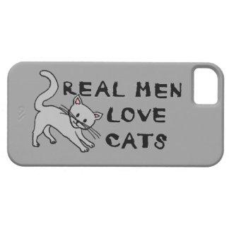 real men love cats cat feline pet furry cute claws iPhone 5 covers