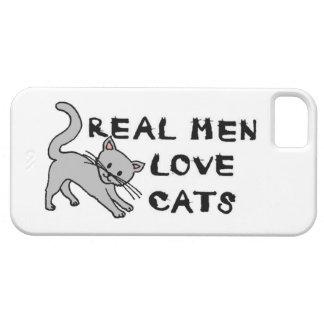 real men love cats cat feline pet furry cute claws iPhone 5 cases