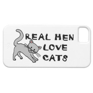 real men love cats cat feline pet furry cute claws iPhone SE/5/5s case