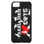 Real men love cats, cats have 9 lives case for iPhone 5C