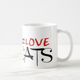 Real Men Love Cats! Classic White Coffee Mug