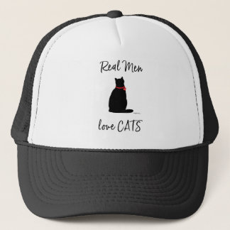 Real-Men-love-Cats, Graphic Cool Trucker Hat