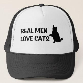 Real Men Love Cats Hat