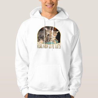 Real Men Love Cats Hooded Pullover