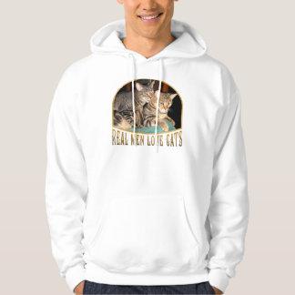 Real Men Love Cats Hoodie