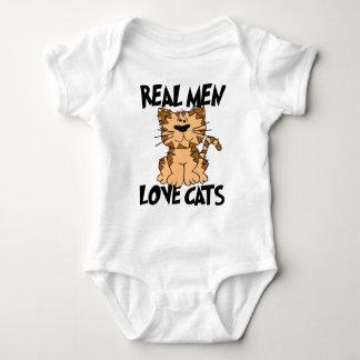 Real Men Love Cats Infant Creeper