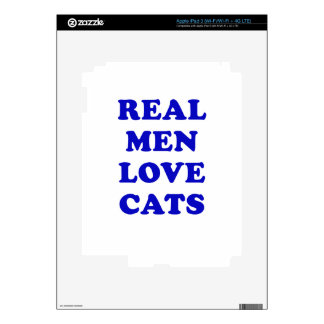 Real Men Love Cats Skins For iPad 3