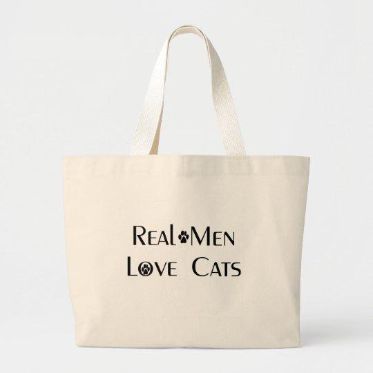 Real Men Love Cats Tote
