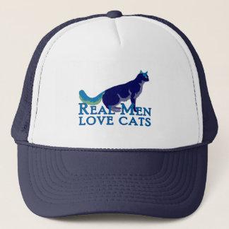 Real Men Love Cats Trucker Hat