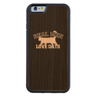 Real Men Love Cats Carved® Cherry iPhone 6 Bumper Case