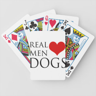 Real Men Love Dogs Deck Of Cards