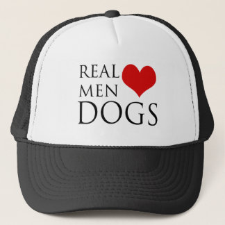 Real Men Love Dogs Trucker Hat