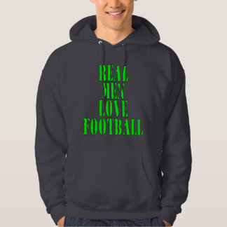 Real Men Love Football Hoodie