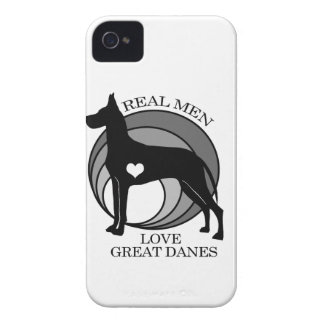 Real Men Love Great Danes iPhone 4 Case