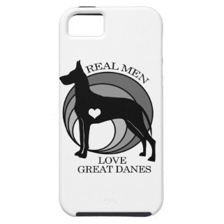 Real Men Love Great Danes iPhone 5 Cases