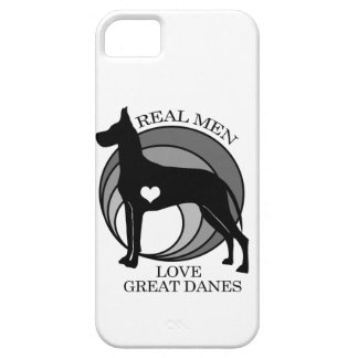 Real Men Love Great Danes iPhone SE/5/5s Case