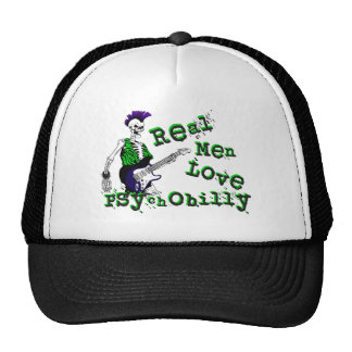 Real Men Love Psychobilly Hat