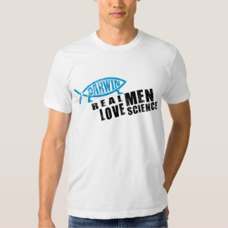 Real Men Love Science Tee Shirt