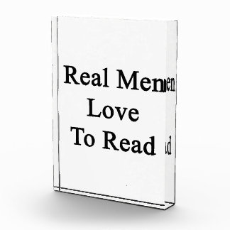 Real Men Love To Read Awards