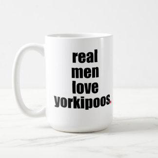 Real Men Love Yorkipoos Mug