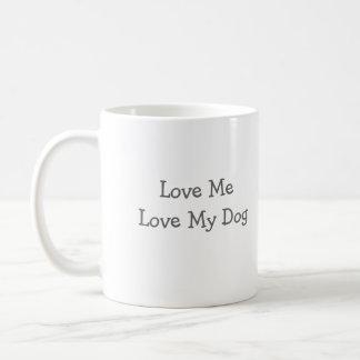 Real Men LoveLittle Fluffy Dogs, Love MeLove My... Coffee Mug