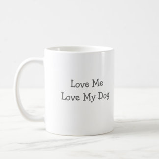 Real Men LoveLittle Fluffy Dogs, Love MeLove My... Classic White Coffee Mug