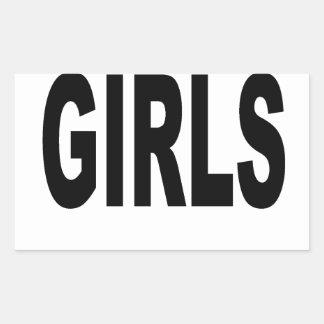 REAL MEN MAKE GIRLS BABY DADDY NEW FATHER T SHIRTS RECTANGULAR STICKER