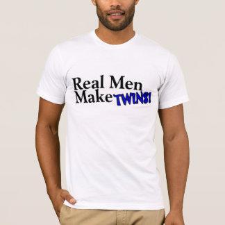 Real Men Make Twins (B) T-Shirt