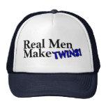 Real Men Make Twins (B) Trucker Hat