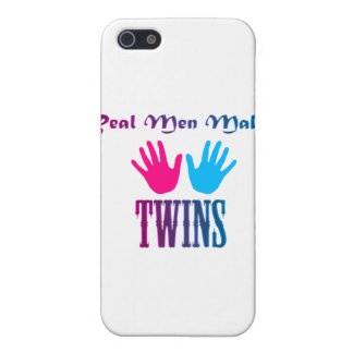 Real Men Make Twins (Boy/Girl) iPhone 5/5S Cover