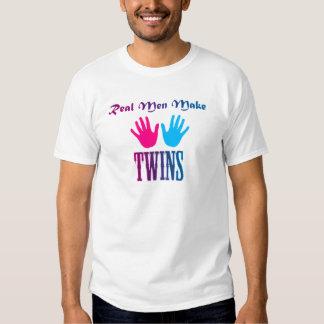 Real Men Make Twins (Boy/Girl) T Shirt