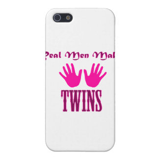 Real Men Make Twins (Girl/Girl) iPhone 5/5S Covers
