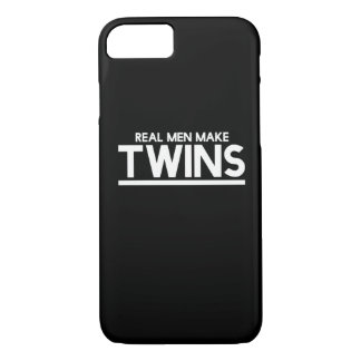 Real Men make twins iPhone 7 Case