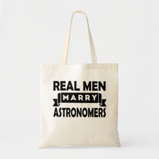 Real Men Marry Astronomers Budget Tote Bag