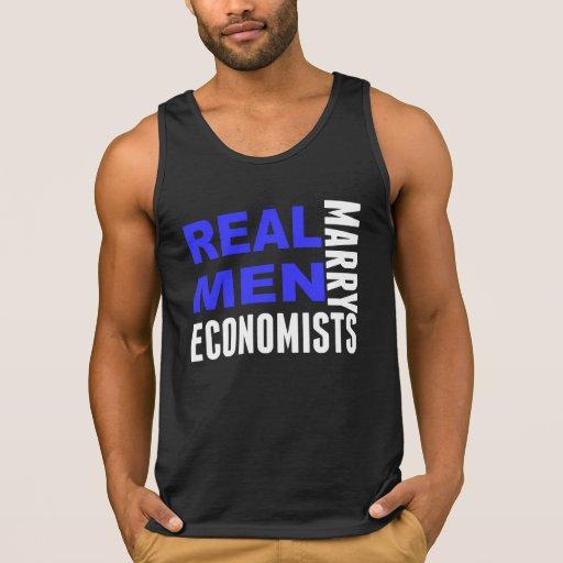 Real Men Marry Economists Tanktop Tank Tops, Tanktops Shirts