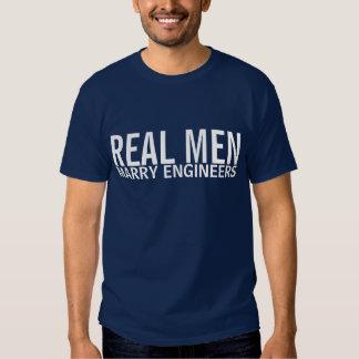 Real Men Marry Engineers Tee Shirt