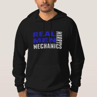 Real Men Marry Mechanics Hoodie
