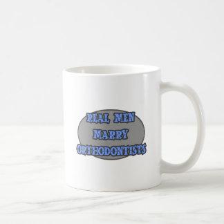 Real Men Marry Orthodontists Coffee Mug