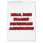 Real Men Marry Physician Assistants Greeting Cards