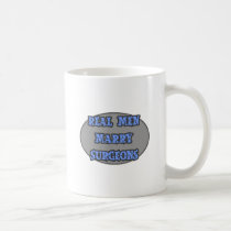 Real Men Marry Surgeons Classic White Coffee Mug