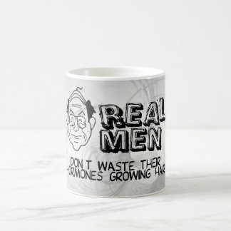 Real Men Classic White Coffee Mug