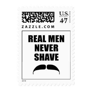 Real Men Never Shave Postage