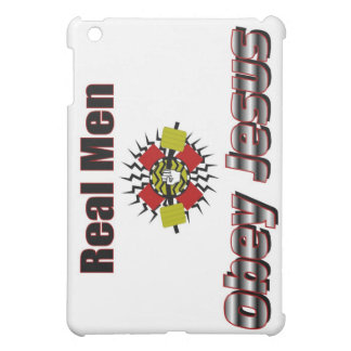 Real men obey Jesus Christian saying Case For The iPad Mini